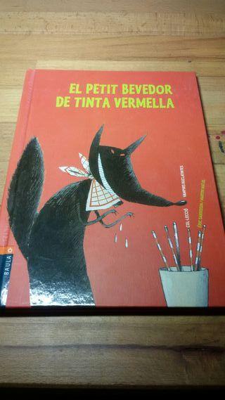 Libro El petit bevedor de tinta Vermella