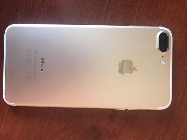 Iphone 7 plus oro 256 gb