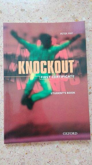 Libro de inglés Knockout FIRST CERTIFICATE