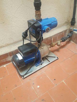 motor presión de agua