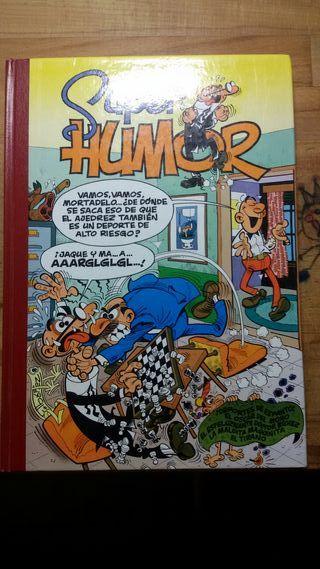 Libro Tebeo SuperHumor Mortadelo y Filemon