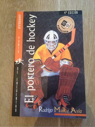 Libro El portero de Hockey