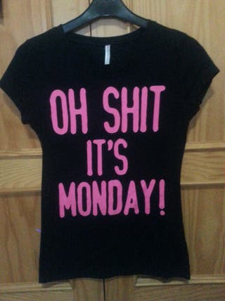 Camiseta It's Monday Talla S