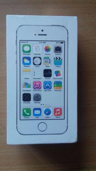 IPhone 5s 16g gris y blanco
