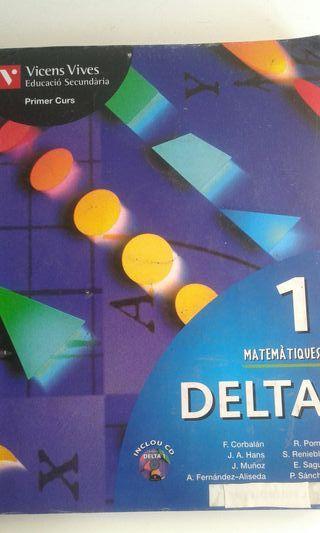 Llibre Delta 1 Matemàtiques