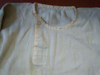 calzones y camiseta de punto. antiguos