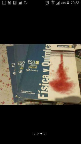 Libros física y química 3 volumenes