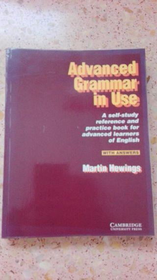 Libro inglés Advanced Grammar in Use