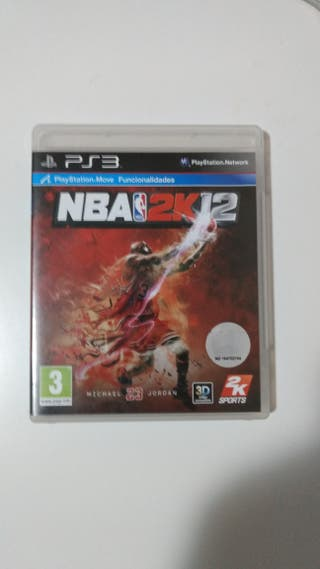 NBA 2K12 juego ps3