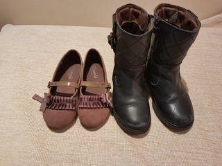 Botas Pablosky y zapatos T.29