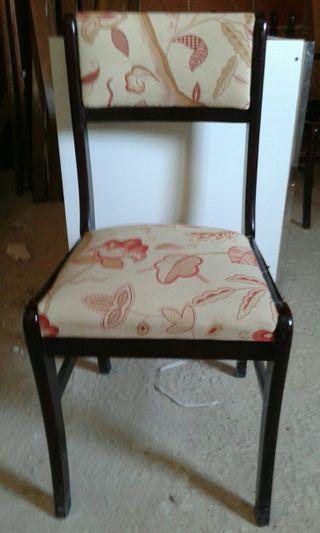 silla restaurada