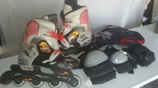 JUEGO COMPLETO PATINES