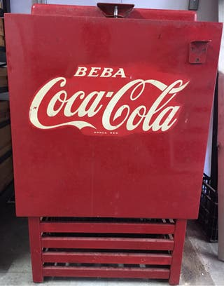 Nevera de cocacola de 1968