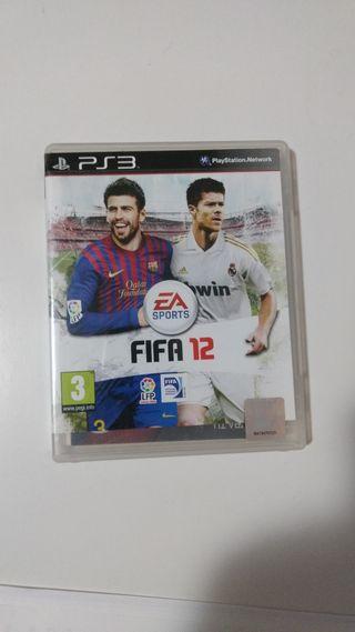 FIFA 12 juego ps3