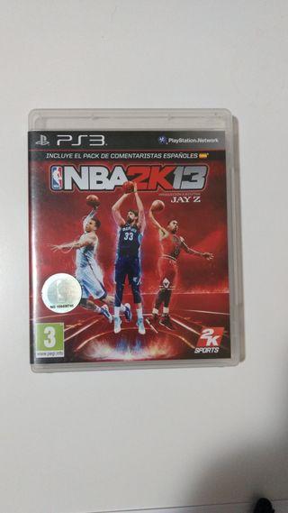NBA 2K13 juego ps3