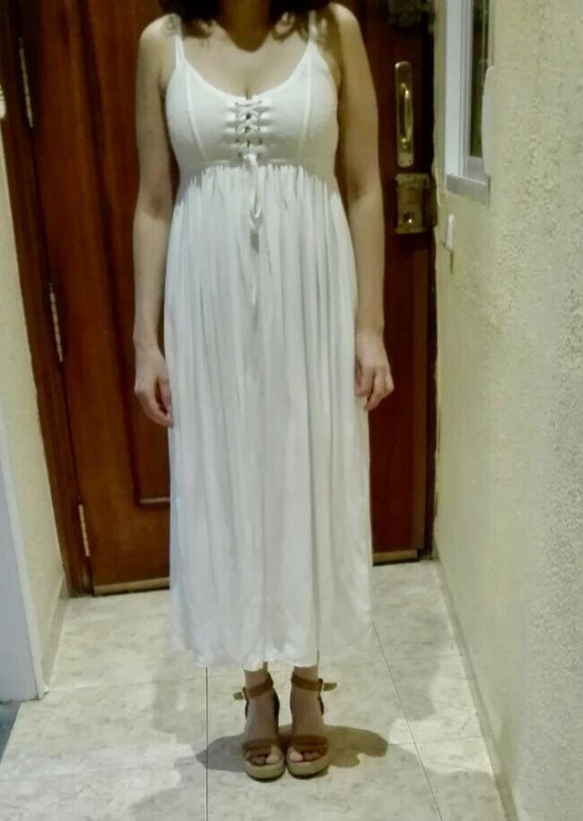 Vestido blanco ibicenco