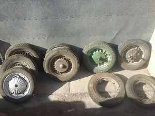 lote de ruedas lambretta y vespa
