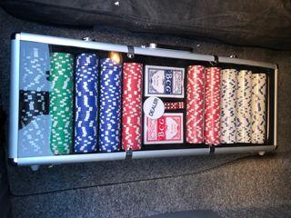 Set poker 500 fichas Nuevo