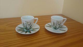 Lote 2 tazas nuevas de porcelana de Nespresso