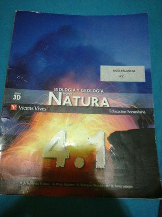 Libro de biologia y geologia 4°