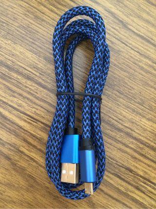 Cable usb a micro usb de 1 m. Super resistente. Nuevo