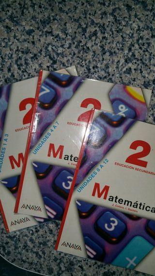 matemáticas 2eso 9788467802238