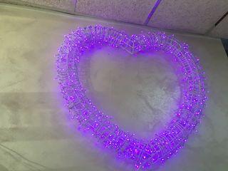 Corazon luminoso fhotocall