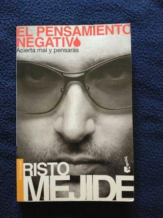 """Libro """"El pensamiento negativo"""" de Risto Mejide."""