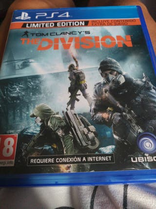Juego ps4 THE DIVISION limited edition