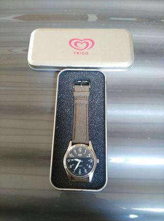 reloj frigo con caja metalica original