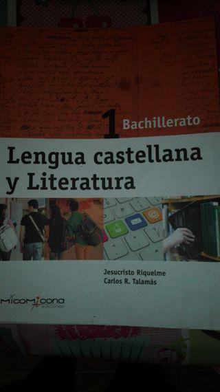 Libro Lengua Cadtellana Bachillerato