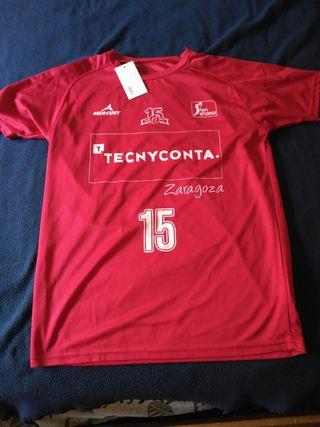 Camiseta 15 aniversario CAI Zaragoza Tecnyconta