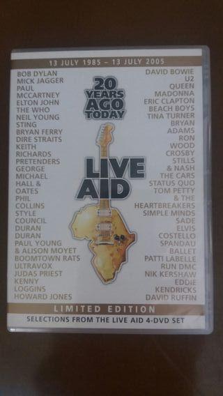 dvd live aid