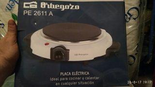 Hornillo eléctrico ORBEGOZO modelo PE 2611A