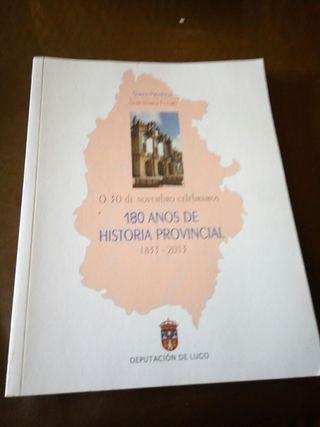 libro 180 anos de historia provincial