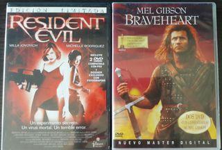 Pack dvds peliculas