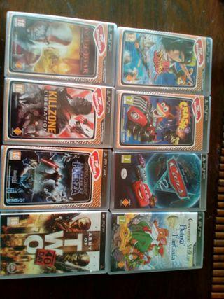 8 Juegos De PSP (segunda mano)