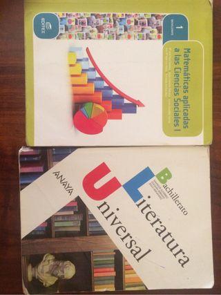 Libros 1 bachillerato social