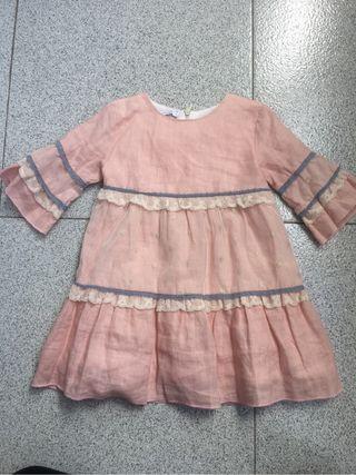 Vestido niña 4 años