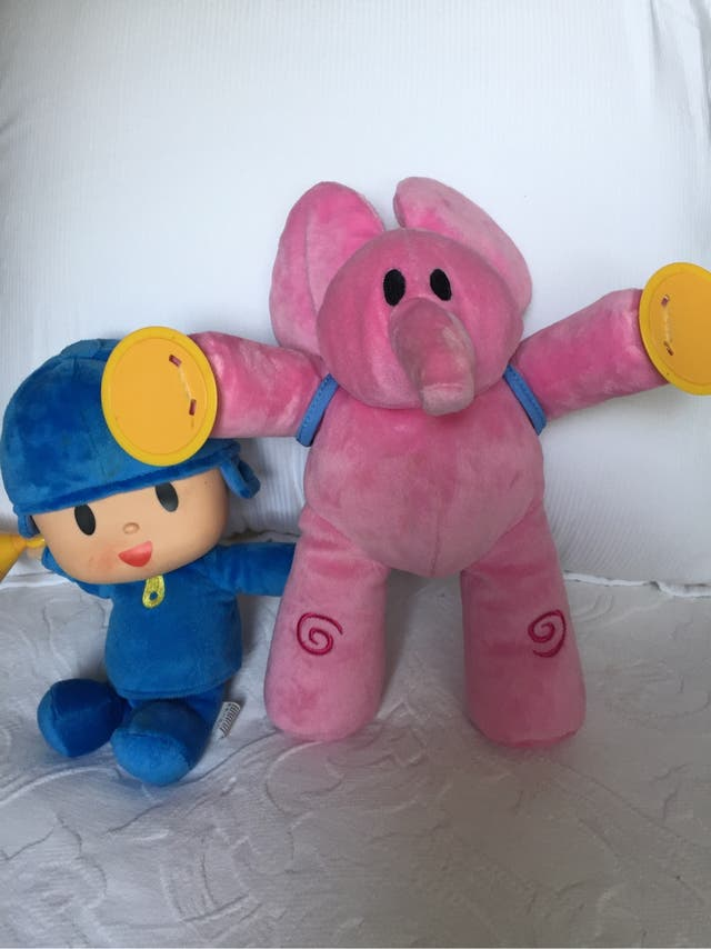 Pack peluches Pocoyo