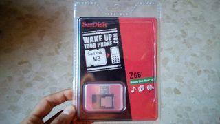 Memory stick micro (M2)