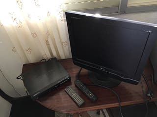 Television monitor pc