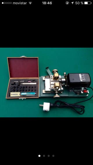 Maquina taladradora de perlas
