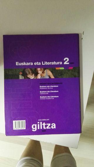 libro euskera y literatura de 2 dbh
