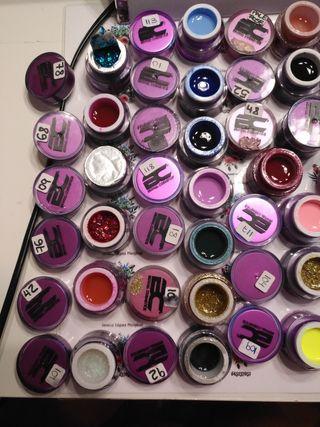 del de uñas de colores