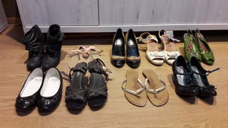 Zapatos 1-5 euros buen estado