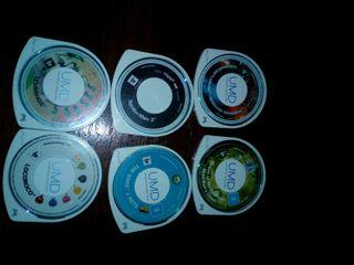 6 Juegos De PSP (Segunda Mano)