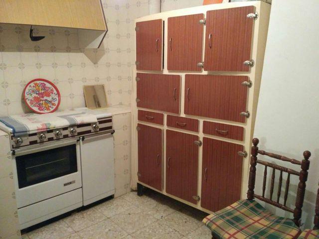 Mueble alacena de cocina vintage años 50-60 de segunda mano por 200 ...