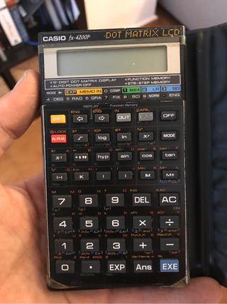 Calculadora casio fx 4200p