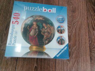 En su embalaje original Puzzle Ball de 540 piezas